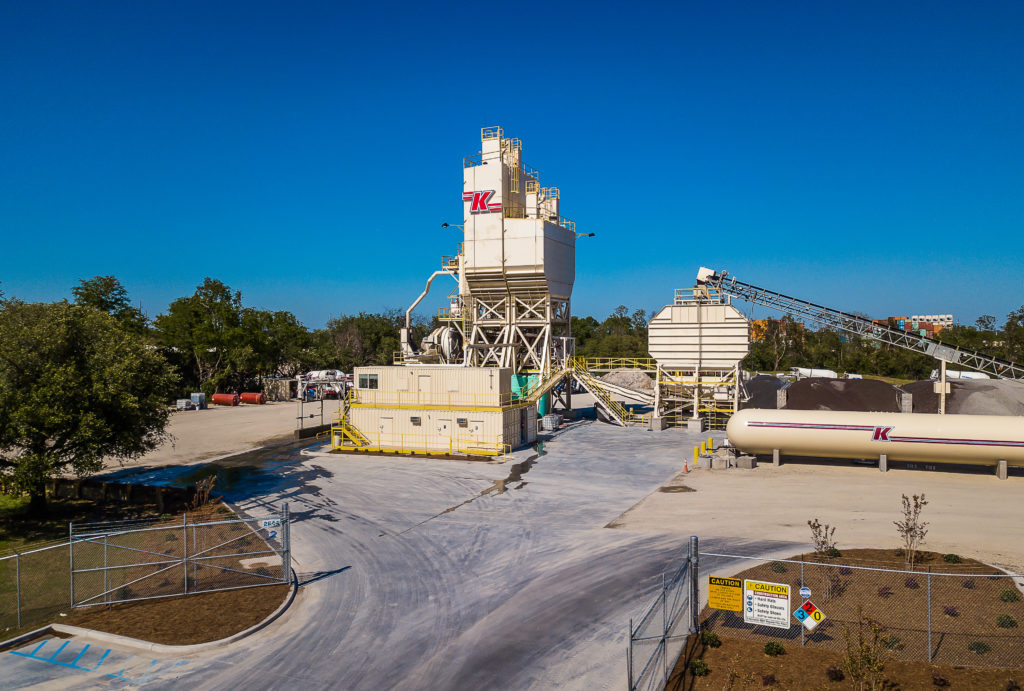 Knights companies ready mix concrete plant
