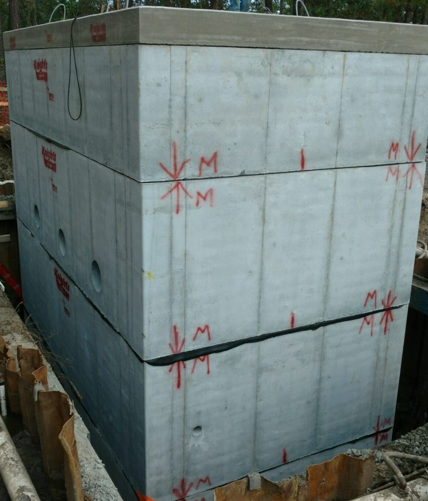 Precast Concrete Cistern