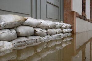 Flooding and concrete