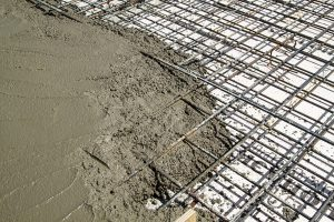 wire mesh in concrete poor