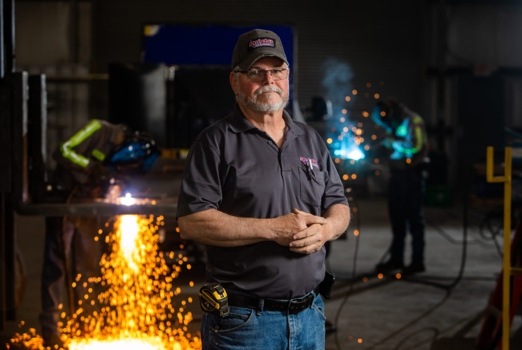 Former Knight's Welding Shop Manager, Bill Wright